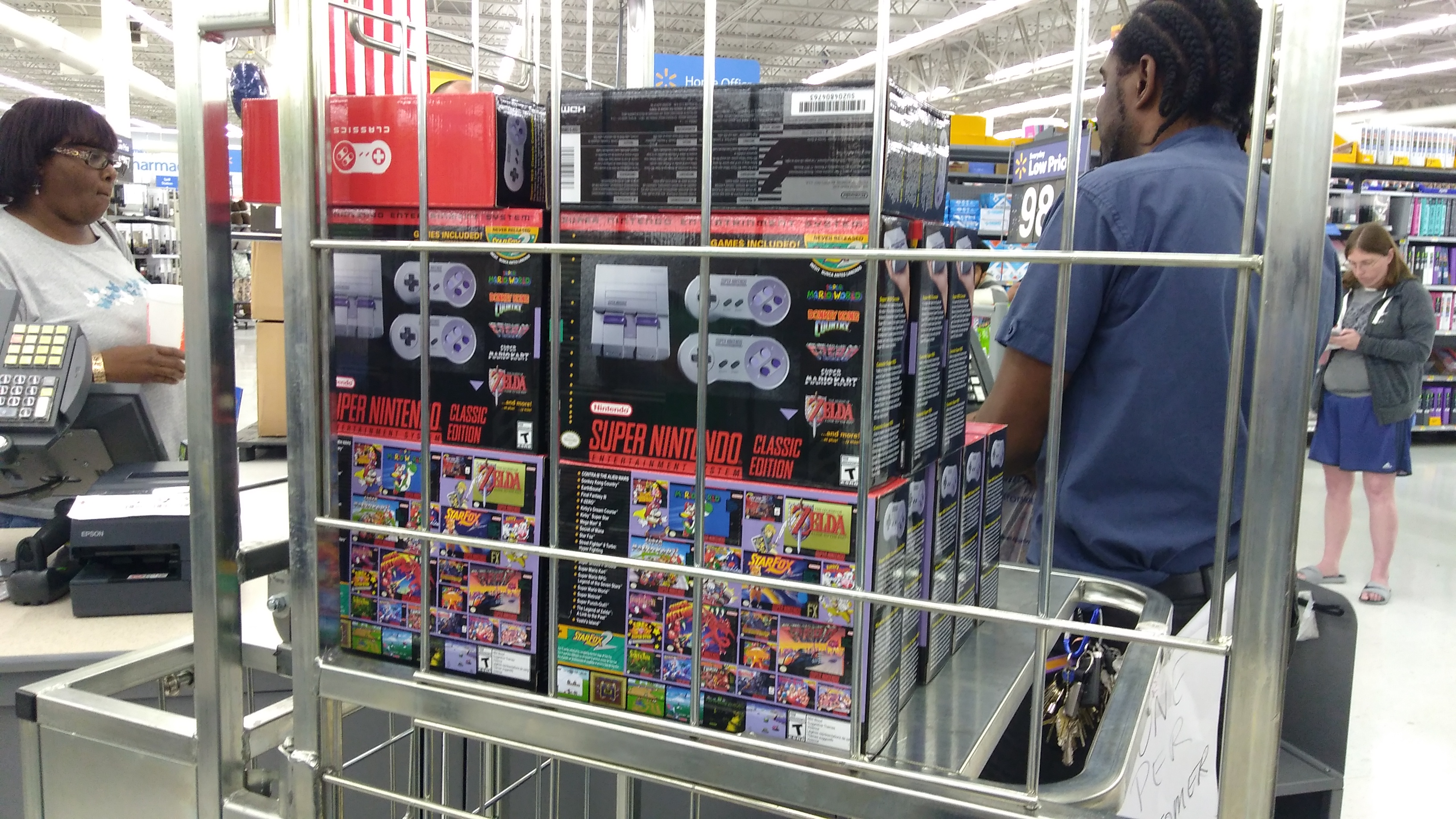 Super NES Classic Edition consoles ready for sale
