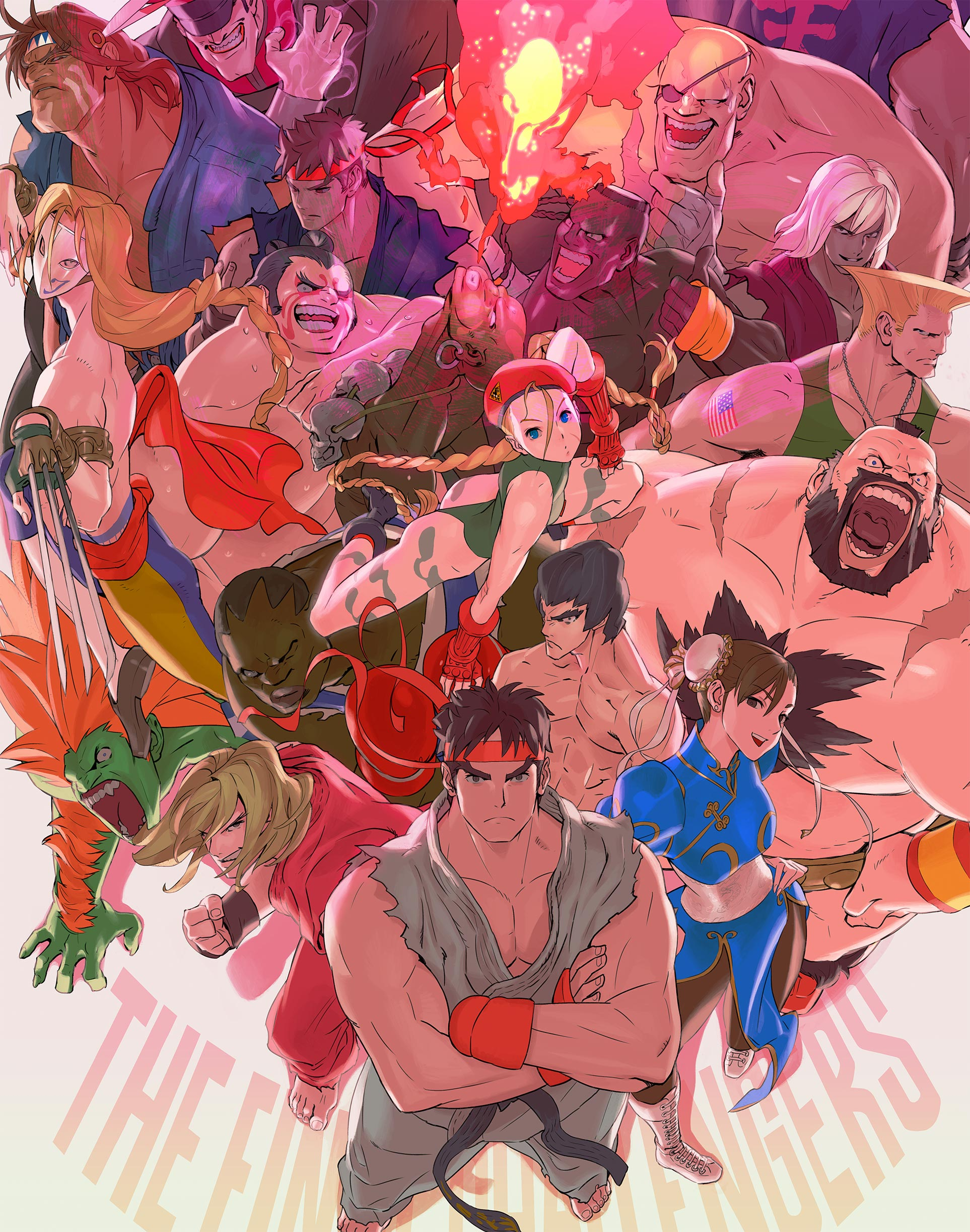 Ultra Street Fighter II cover art