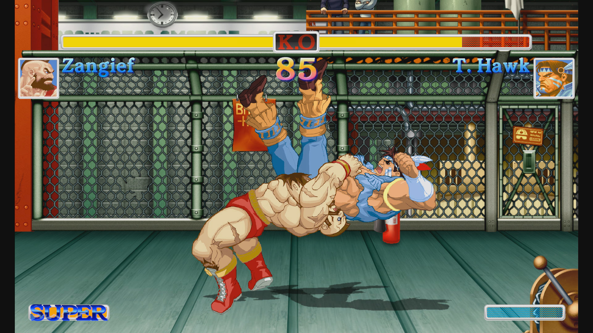 Ultra Street Fighter II screenshot